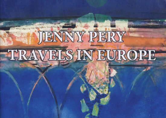 Travels in Europe Sketchbook by Jenny Pery
