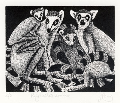 Wood Engraving by Jenny Pery